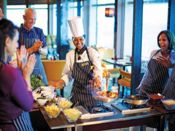 кухня во время круизов на Celebrity